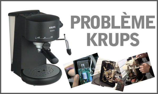Problème Krups