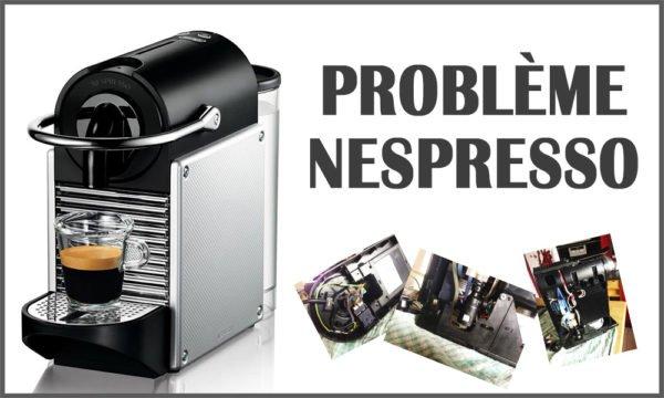 Problème nespresso