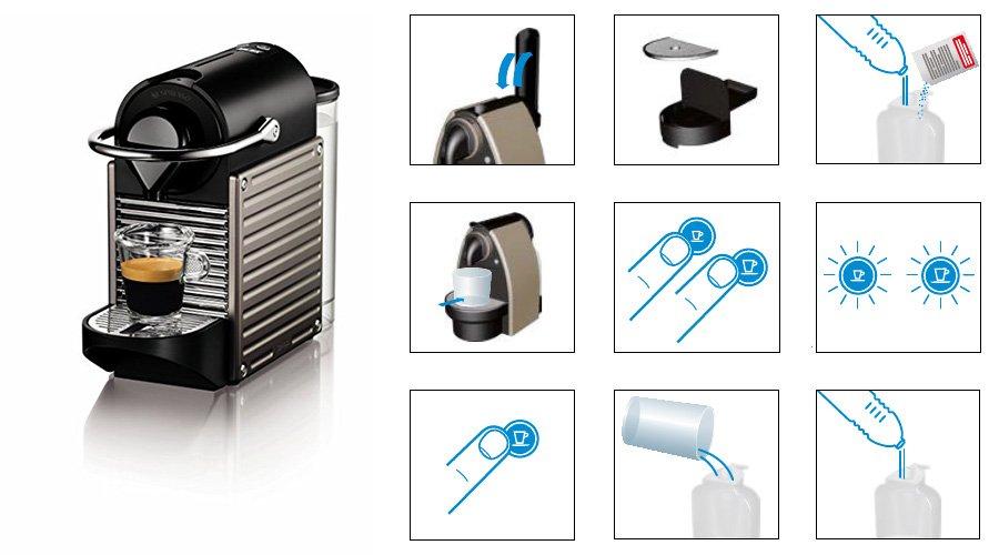 d tartrage nespresso un nettoyage automatique et manuel d une cafeti re. Black Bedroom Furniture Sets. Home Design Ideas