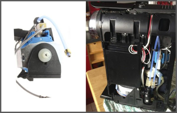 probleme machine nespresso pompe