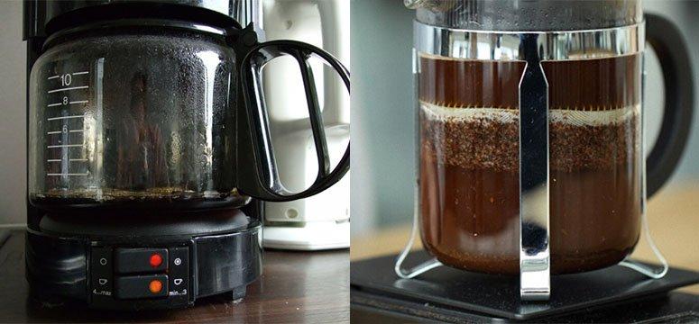 Vous ne nettoyez pas votre cafetière