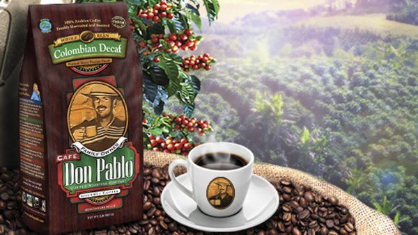 Café Don Pablo Colombian Gourmet Decaf Coffee 2