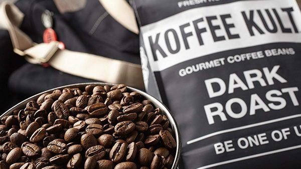 KOFFEE KULT GRAINS DE CAFÉ FRITS