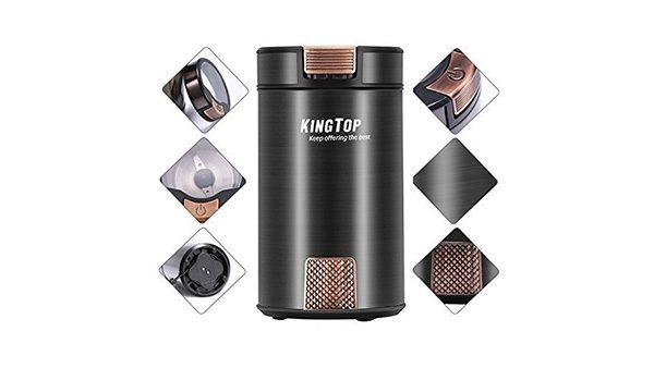 KingTop Electric Coffee Grinder 2