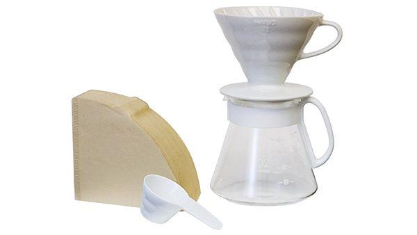 Hario V60 Ceramic Pour 1
