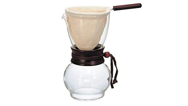 Hario Wood Neck Drip Coffee Pot 2