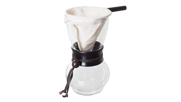 Hario Wood Neck Drip Coffee Pot