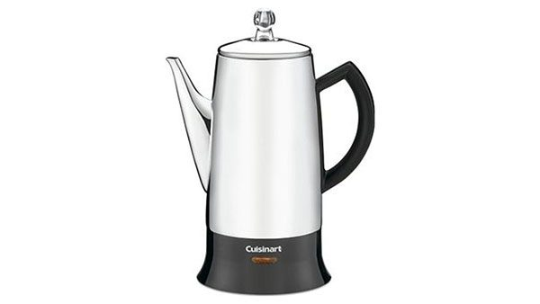 Cuisinart PRC-12 Classic 12-Cup Stainless-Steel Coffee Percolator 2