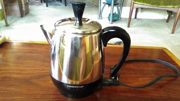 Farberware 2-4-Cup Stainless Steel Coffee Percolator