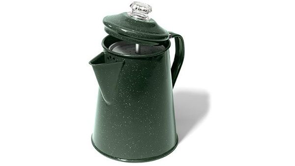 GSI Outdoors Enamelware Coffee Percolator Pot 2