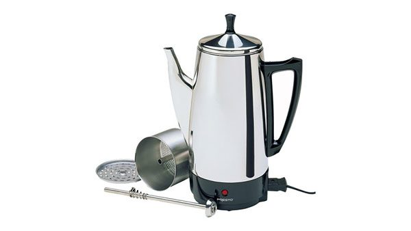 Presto 12-Cup Stainless Steel Coffee Percolator 2